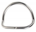 D-Ring gekröpft, geschweißt 50mm Durchmesser, 5mm dick