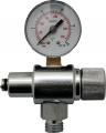 Atemregler Einstellgerät, Mitteldruck - Manometer passend für Tecline oder Apeks