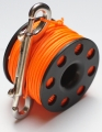 Spool, Jumpspool, Fingerspool, Bojenspool,  30m orange Line