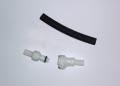 Heser Schnellkupplungsset mit Stecker-Stopventil