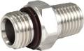 XS SCUBA Edelstahl Adapter 9/16-18 Male to 1/4 Male NPT