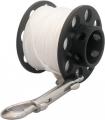 DIR-Zone Kaltwasser-Spool 40m mit Doppelender aus V4A als Bojen-Spool, Jump oder Savety-Spool
