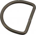 D-Ring geschweißt 50mm Durchmesser, 5mm dick aus Aluminium