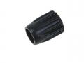 weiches Ventil-Handrad schwarz 51mm