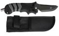 Polaris Jacketmesser aus Titanium mit spitzer Klinge (grau)